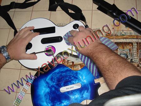 skin guitare
