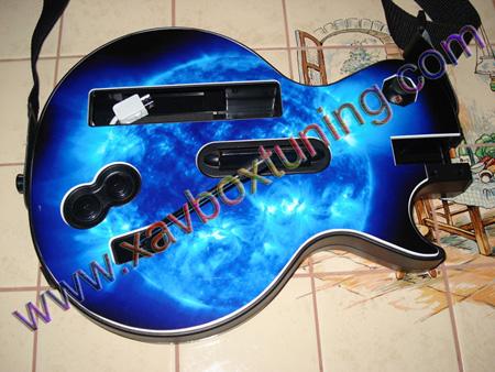 skin guitar