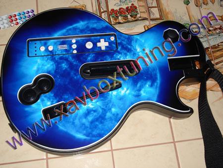 wiimote et guitare