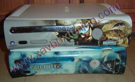 faceplate xbox 360